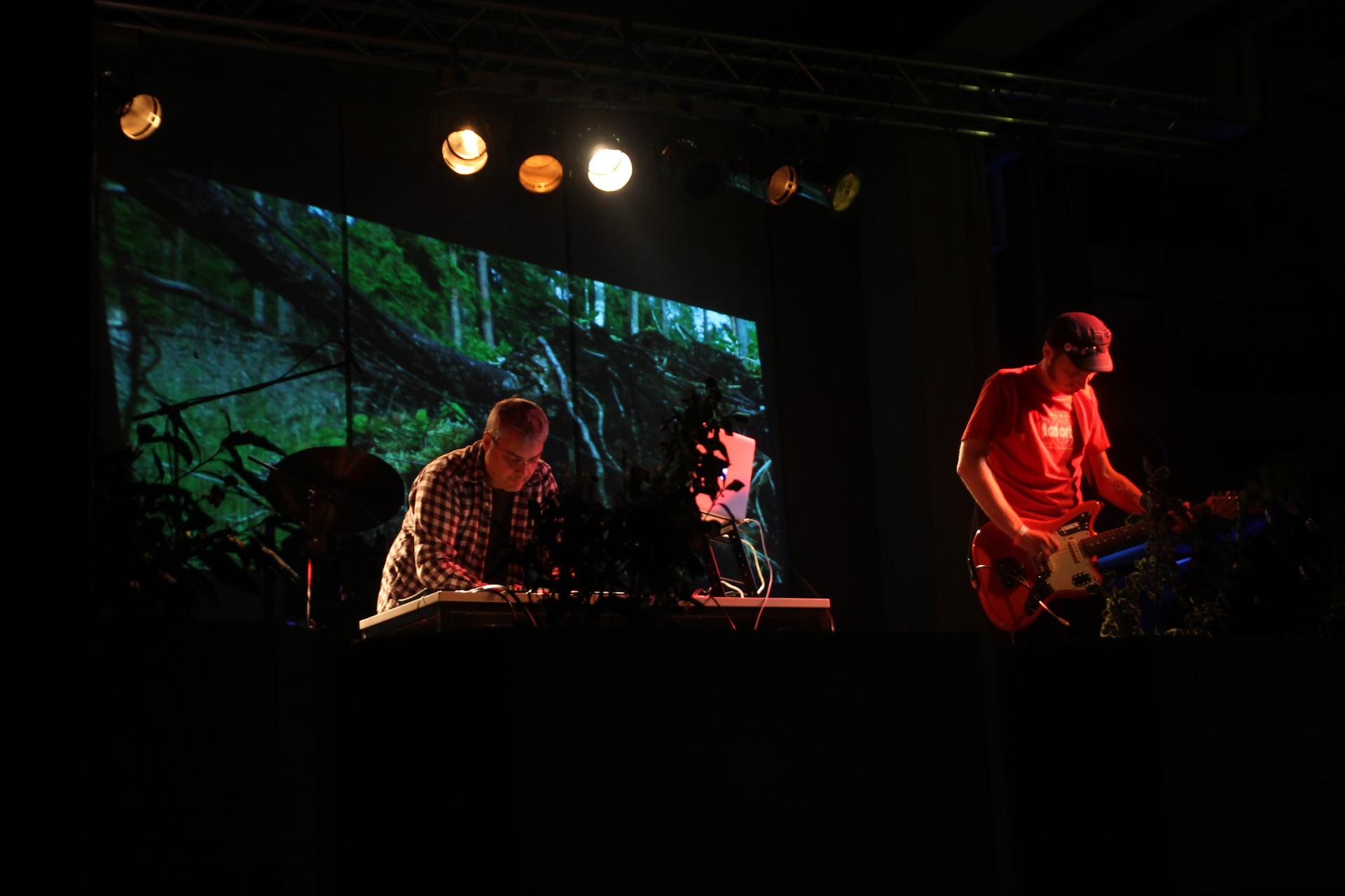 L'UniCo-Bühne beim AStA-Sommerfestival 2014